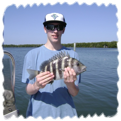 Fishing Teen Holding Cool Catch of the Day!